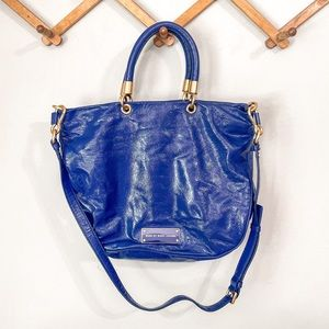 Marc by Marc Jacobs Too Hot To Handle Blue Bag